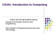 2 Hardware-Concepts-CS101-Fall2009