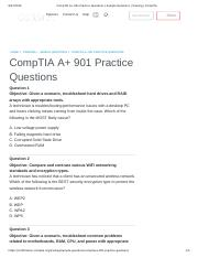 CompTIA A+ 901 Practice Questions _ Sample Questions _ Training _ CompTIA.pdf