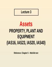 Lecture 3 - Property Plant and Equipment(1).pptx