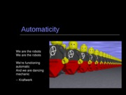 Automaticity 1 and 2