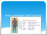 Iron overload and toxicity project 2
