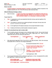 General Bio 2 Lab quiz 1 solutions