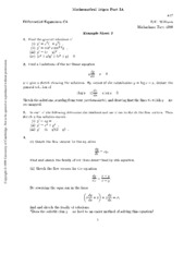 Differential Equations 2