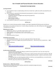 Drivers Ed - Week 1 - Graduated Licensing System worksheet.docx