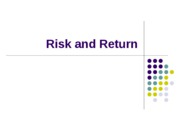 3Risk and Return5