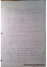Line Integrals Lecture Notes