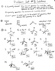 CHEM171 ProblemSet3Solutions