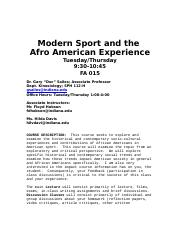 Modern Sports and the Afr Amer Exp Sylabus.doc