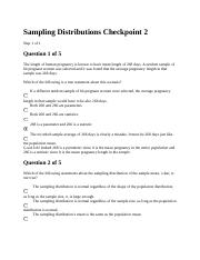 Sampling Distributions Checkpoint 2.docx
