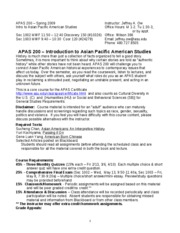 APA 200 syllabus SP 09 final
