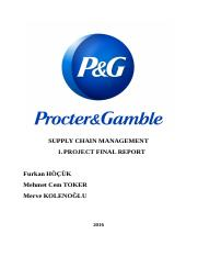 P&G Supply Chain Case Report