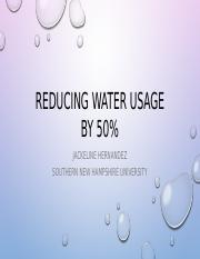 Reducing water 50percent.pptx