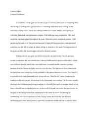 About a place essay