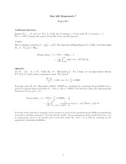 Solution Hw7 - Extra