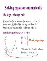 Solving equations numerically.ppt