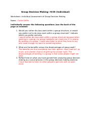 Group Decision Making_Individual.docx