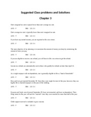 In-Class_Suggested questions and solutions