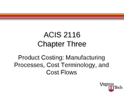 ACIS 2116 Chapter 3 Slides with Blanks
