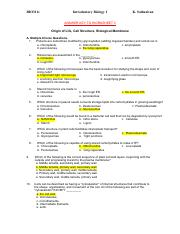 BIO311c-Worksheet3-CellStructure-Membrane-PartA-Answerkey-Spring2014