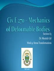 Civ E 270 F2016 Week 9-Dr. Gul - Notes.pdf