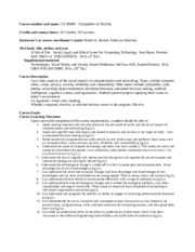 CS 30600 ABET Course Syllabi(2)