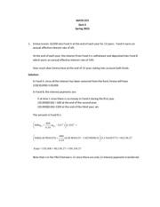 MA373 S13 Quiz 3 Solutions