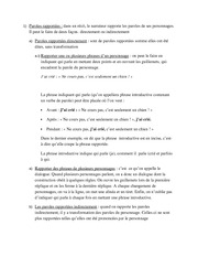 French - Paroles Rapportees
