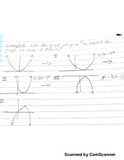 MATH 107 Combining Vertical And Horizontal Functions Notes