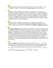 Stat 600 Numerical Solutions Quiz Solutions