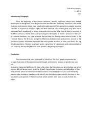 feminism research paper hermida sebastian hermida professor 1 pages research paper feminism 1st and last paragraph