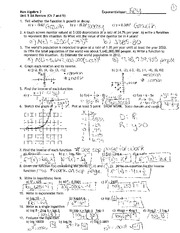 growth and decay functions solutions