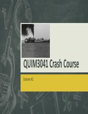 QUIM3041 Crash Course.pdf