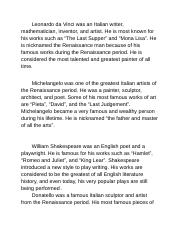 Renaissance Greats - paragraphs.odt