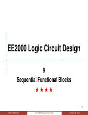 09 Sequential Functional Blocks