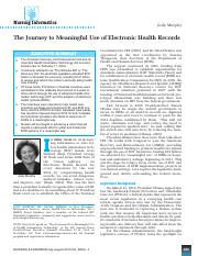 Journey to meaningful use of EHR.pdf