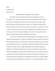 agruement essay with thesis