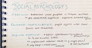 Psychology - Social Psychology - Introduction