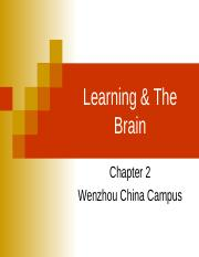 2 China Learning & The Brain.ppt