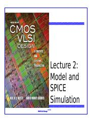 Lecture 2 Model and SPICE Simulation.pptx