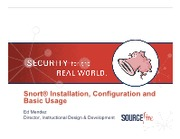 Snort Installation, Configuration & Basic Usage.pdf