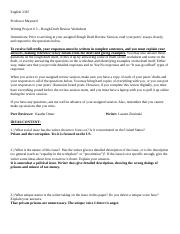 WP # 3 - Peer Review Worksheet Lauren