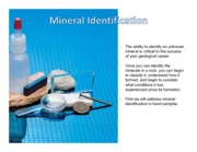 Chapter3-MineralIdentification