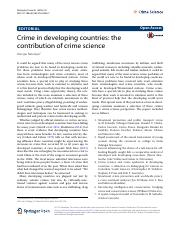 7. crime in developing countries crime science.pdf