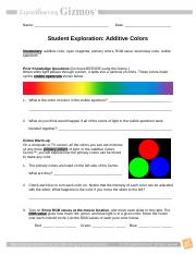 AdditiveColorsSE (1).doc