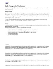 Body Paragraphs Worksheet.html