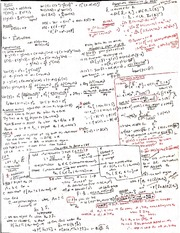 BTRY 4090 Spring 2015  Prelim 2 Cheat Sheet