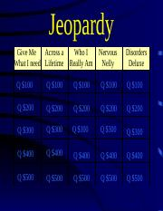 Discussion 13 - Exam 3 Jeopardy.ppt