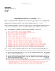 netw202 w6 lab report template Find essays and research papers on ip address at iceessaycom we've helped millions of students since 1999 join the world's largest study community.