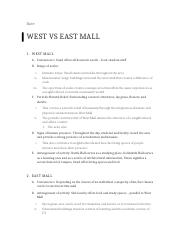 East Vs West Mall.docx