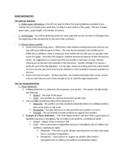 Handout - Tips on writing papers